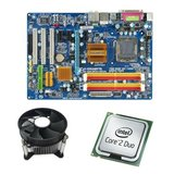 Kit Placa de Baza Refurbished GIGABYTE GA-EP31-DS3L, Core 2 Duo E7400, Cooler